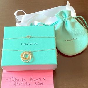 Authentic Tiffany Interlocking Circles